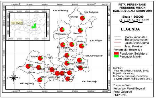 peta penduduk miskin